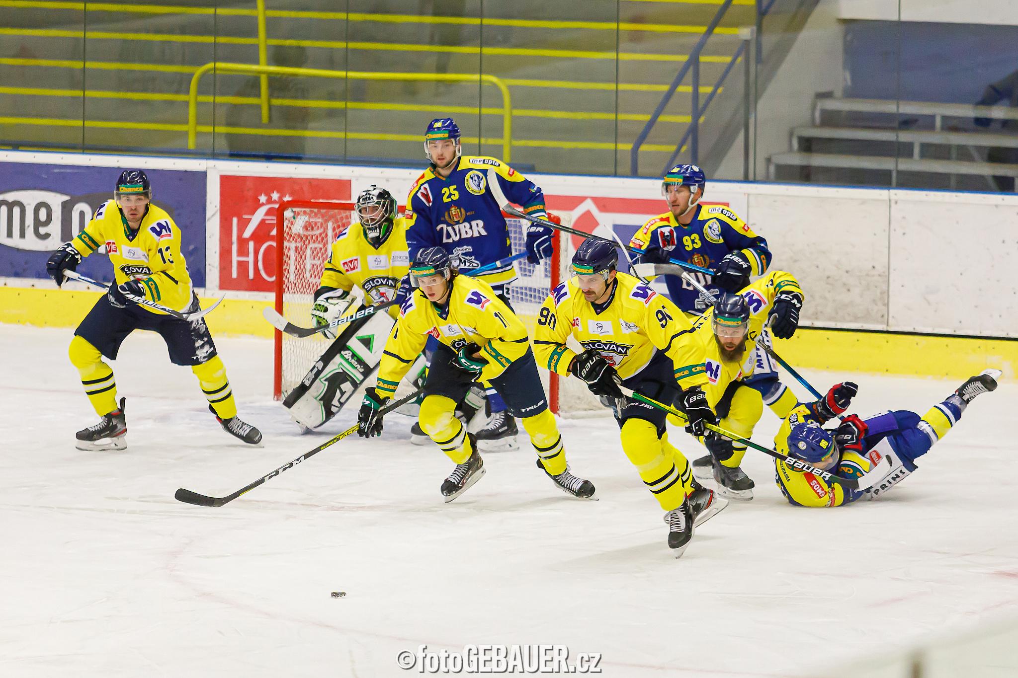 HC ZUBR Přerov – HC Slovan Ústí nad Labem  4:0